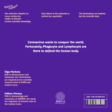 Esprits Curieux Album 7 Coronavirus BackCover