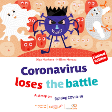 Esprits Curieux Album 7 Coronavirus FirstCover