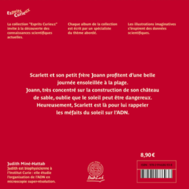 Esprits Curieux Album6 BackPage